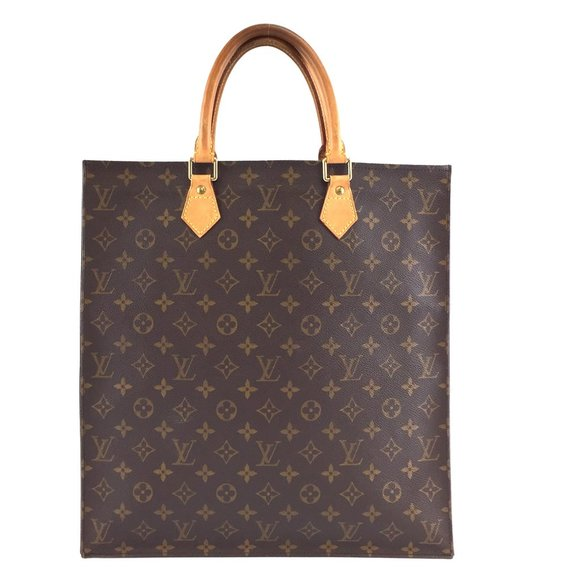 Sac Plat Tall Laptop Briefcase Canvas Tote